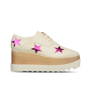 Ivory Elyse Star Shoes - Stella Mccartney