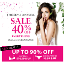 40% Off Sale @ Aimer