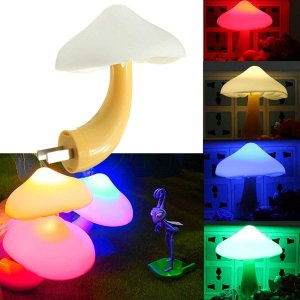 KINGSO Magic Mini Pretty Mushroom-Shaped Energy Saving LED Night Light