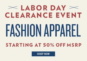 Up to 75% Off Labor Day Clearance Event @ 6PM.com