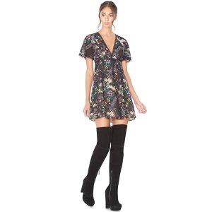Amara Lace Insert Dress