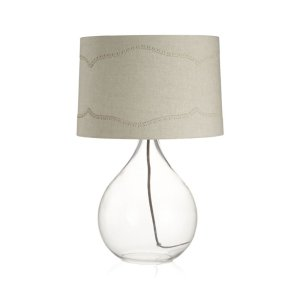 Brogue Table Lamp   Crate and Barrel
