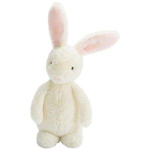 Jellycat Jellycat Bobtail Bunny Pink Chime - Free Shipping