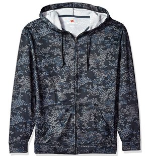 Extra 30% Off! $14.69 Hanes Men's Sport Performance Fleece Full-Zip Hoodie