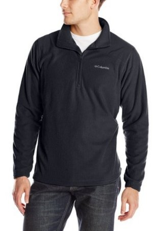 From $18.8 Columbia Men's Grid Line Half Zip Fleece