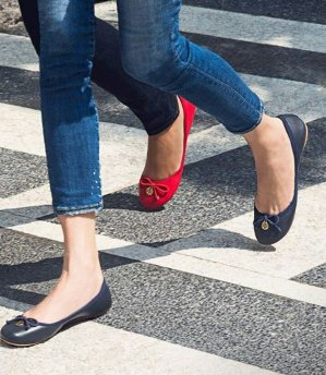 Last Day!Up to $100 Off WIth Tory Burch Flat Purchase