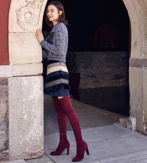 Extended 1 Day! $798 +$200 GC Stuart Weitzman Highland Suede Over-The-Knee Boot @ Neiman Marcus