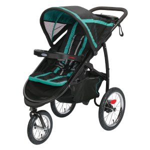 Graco FastAction Fold Click Connect Jogger Stroller - Tropical - Graco - Babies