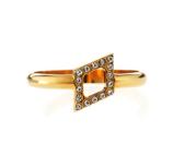 Vita Fede Mini Rombo Swarovski� Crystal Ring, Size 7