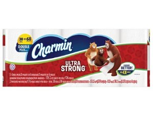 3X Charmin Ultra Strong Toilet Pape