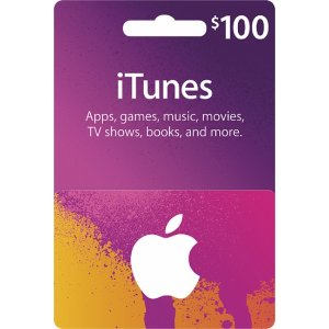 Apple $100 iTunes Gift Card