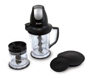 $27Ninja Master Prep 16-oz Black 1-Speed 450-Watt Pulse Control Blender