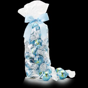 Stracciatella Chocolate LINDOR Truffles 28-pc Bag
