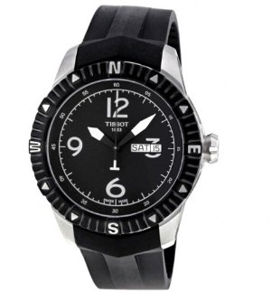 TISSOT T-Navigator Automatic Black Dial Stainless Steel Men's Watch T0624301705700