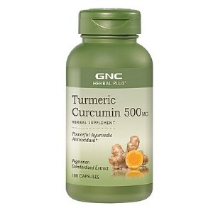 GNC Herbal Plus® Turmeric Curcumin 500MG