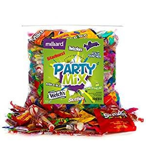 Candy for Any Ocassion Great for Halloween! Assorted Classic Candy - Huge Party Mix Bulk bag