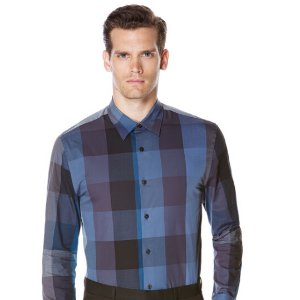 Extra Large Check Shirt | Perry Ellis
