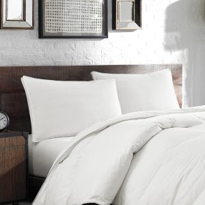 Eddie Bauer White Down/ Feather Chamber 400 Thread Count Pillow - 15422881 - Overstock.com Shopping - Great Deals on Eddie Bauer Down Pillows