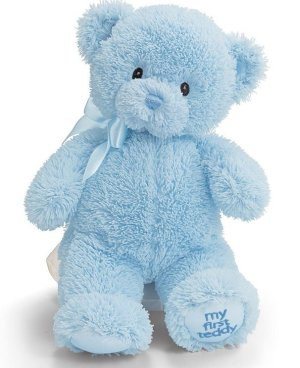 $6.92 GUND My First Teddy Baby Stuffed Animal, 10 inches