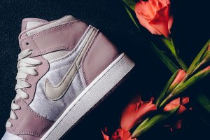 $87.99 Air Jordan 1 Heiress Plum Fog @ FinishLine.com
