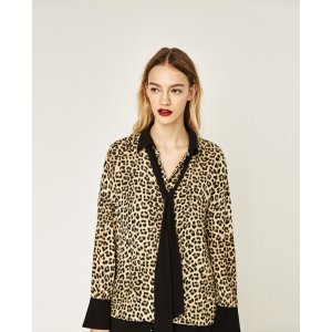 ANIMAL PRINT SHIRT - View All-TOPS-WOMAN-SALE | ZARA United States