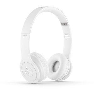 Beats by Dr. Dre Drenched Solo On-Ear Headphones, white