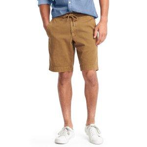 Twill jogger shorts | Gap