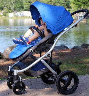 Britax Affinity Stroller, Black/Sky Blue