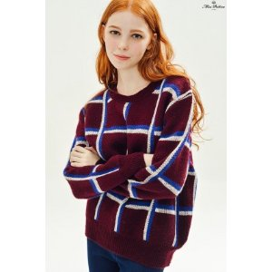 Field Trip Jumper (Burgundy) - Miss Patina - Vintage Inspired Fashion