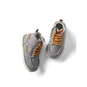 Flannel hi-top sneakers | Gap