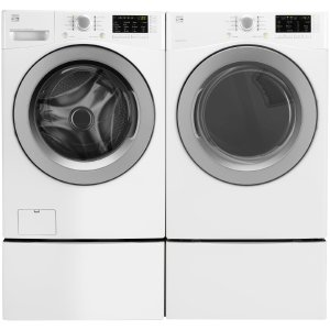 Kenmore 4.5 cu. ft. Front-Load Washer & 7.3 cu. ft. Gas or Electric Dryer w/ Sensor Dry