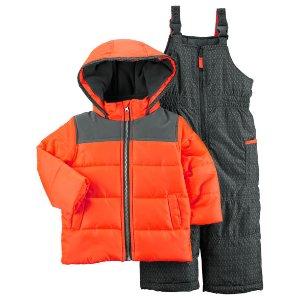 Kid Boy Snowsuit Set   Carters.com
