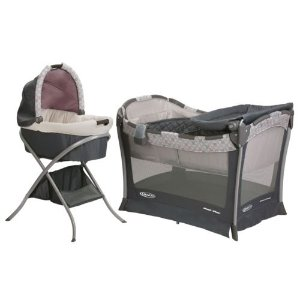 Graco 豪华睡篮+游戏床套装
