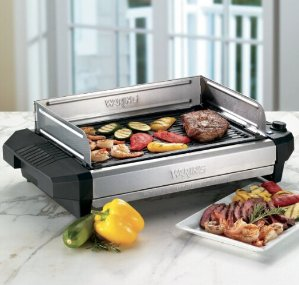 Waring Pro Professional 1800-Watt Cast-Iron Grill