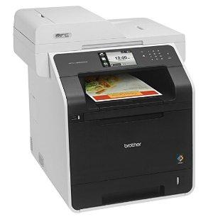 史低价!$289.99包邮Brother 彩色激光无线多功能一体打印机
