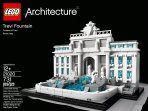 $34.1 LEGO Architecture Trevi Fountain 21020 Building Toy