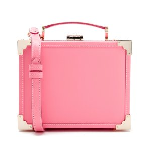 Aspinal of London Women's Trunk Smooth Bag - Pink - Free UK Delivery over £50