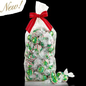 Milk Peppermint LINDOR Truffles 75-pc Gift Bag | Lindt Chocolate