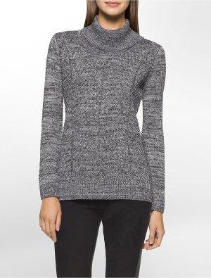 CALVIN KLEIN MARLED KNIT COWL NECK SWEATER @ Calvin Klein, Dealmoon Exclusive