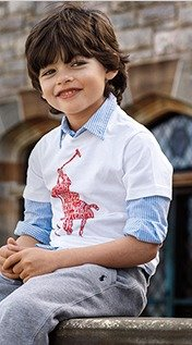 Up to 70% Off + Extra 15% Off Children's product Shirt @ Ralph Lauren