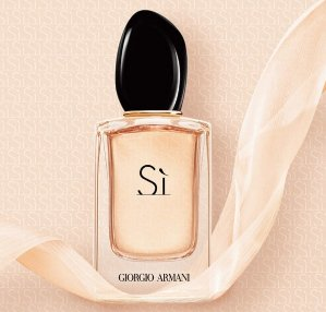 a Free Beauty Clutch with Any Si fragrance Over 1.0oz @ Giorgio Armani Beauty
