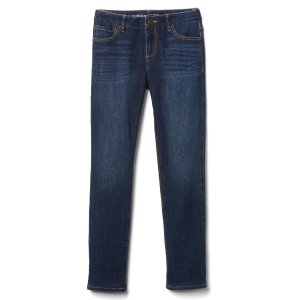1969 jersey-lined stretch straight jeans | Gap