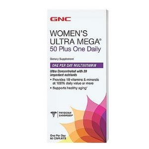 GNC Women's Ultra Mega® 50 Plus One Daily