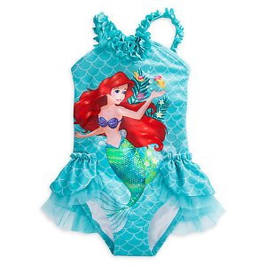 Ariel Deluxe Swimsuit for Girls | Disney Store