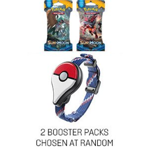 Pokemon Go Plus + 2 Sun & Moon Booster Packs