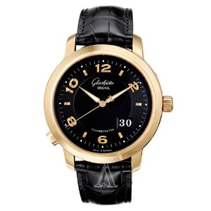 Dealmoon Exclusive! Glashutte Men's  PanoMaticCentral XL Automatic Watch 100-03-22-11-04