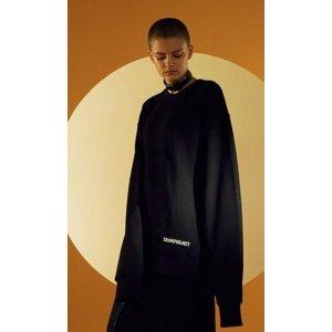 TRUNK PROJECT Moon Sweatshirts(black)