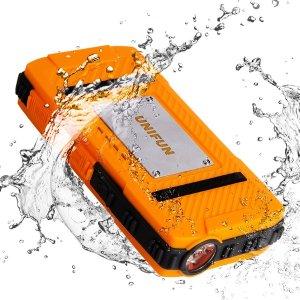 Unifun 10400mAh Waterproof External Battery Power Bank Charger