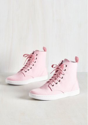 Dr. Martens One Act Playful Sneaker in Pink