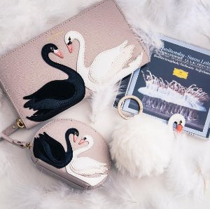 From $20.3 Swan Collection @ kate spade